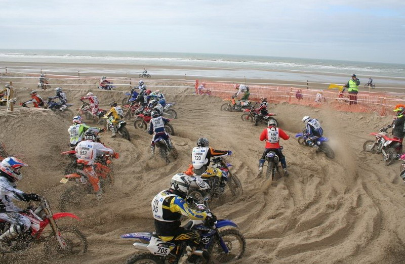 moto cross touquet