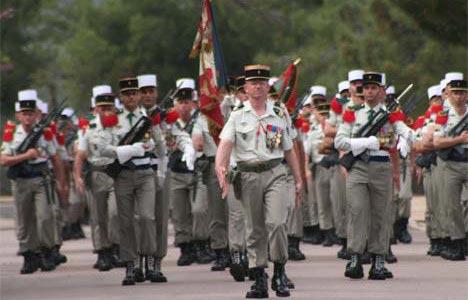 Legione Straniera Francese Legione Straniera in Sudan